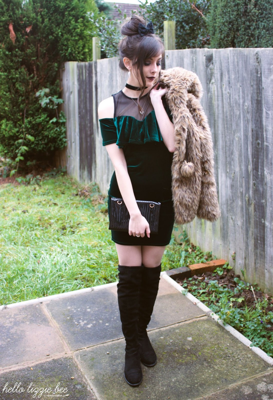 rokku gyaru outfit