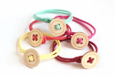 button bracelet tutorial diy suede jewellery jewelry