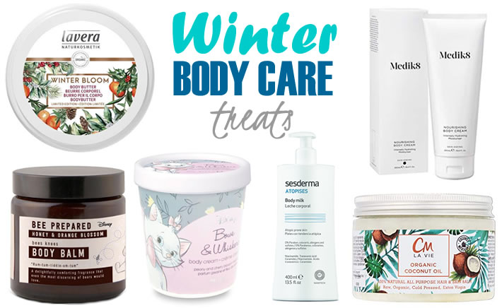 Winter body care products