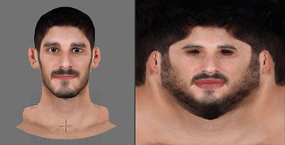 NBA 2K13 Omri Casspi Face 2K Mods
