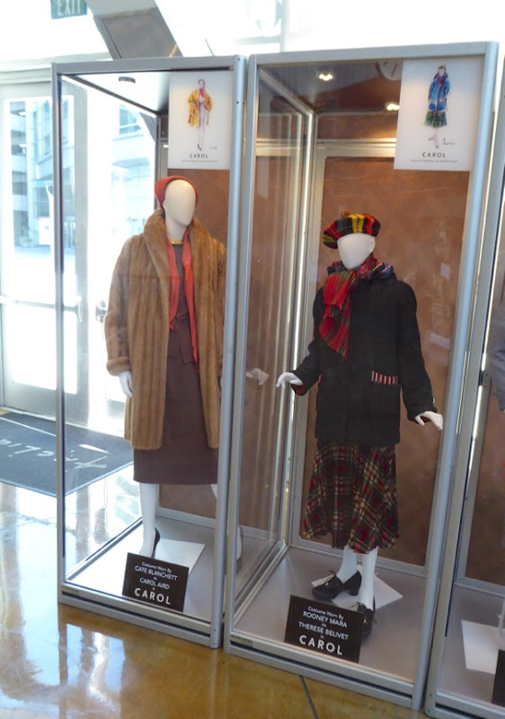 Cate Blanchett and Rooney Mara Carol film costumes