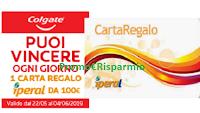 Logo Con Colgate vinci la spesa da Iperal: in palio 14 card da 100€