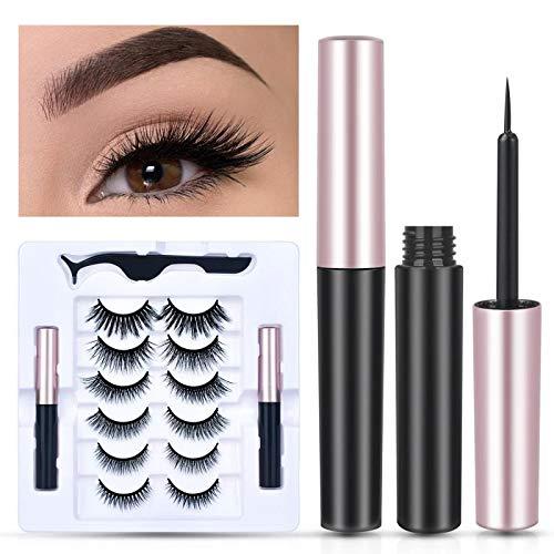 63% off 6 pair magnetic eyelashes with 2 tubes eyeliner kit