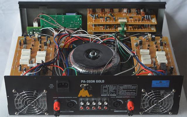 Amply Jarguar 203N Gold Bluetooth (NH)