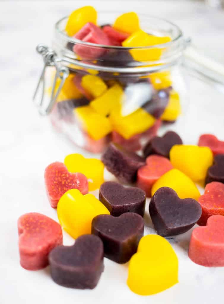 como hacer gominolas caseras de frutas
