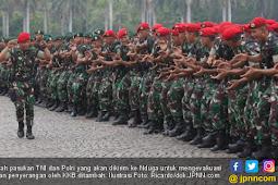Jumlah Pasukan TNI dan Polri Ditambah, Dikirim ke Nduga
