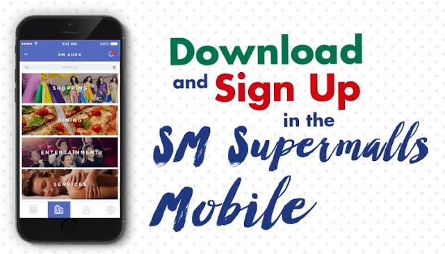 sm megamall mobile app