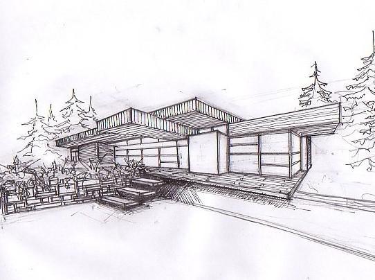 Apuntes revista digital de arquitectura apuntes y bocetos 2 for Casa de arquitecto moderno