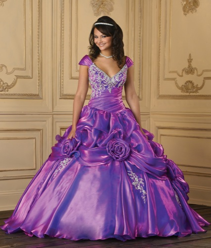 Bridal Style And Wedding Ideas: Purple Bridal Gowns