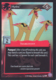 My Little Pony Hydra The Crystal Games CCG Card