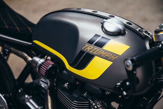 Triumph Thruxton R By Wenley Moto Design Hell Kustom