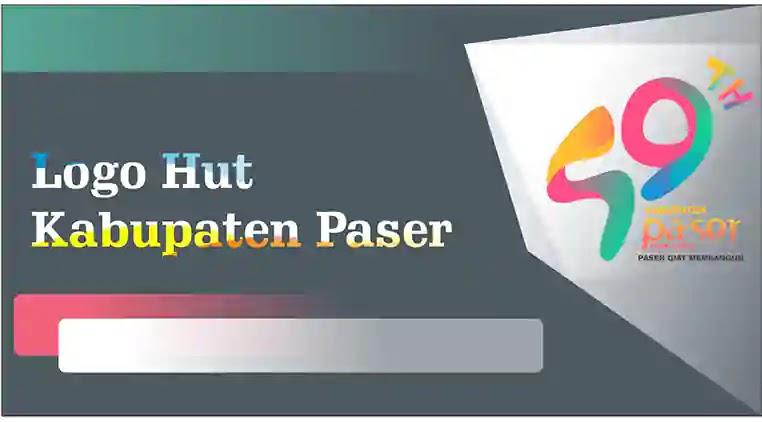 Logo Hut Kabupaten Paser ke 59