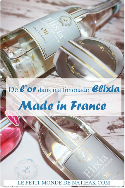 Elixia , de l'or dans ma limonade française