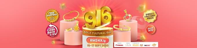 PG Mall 916 Gold Cultural Day: Hari Kebudayaan Emas 2020