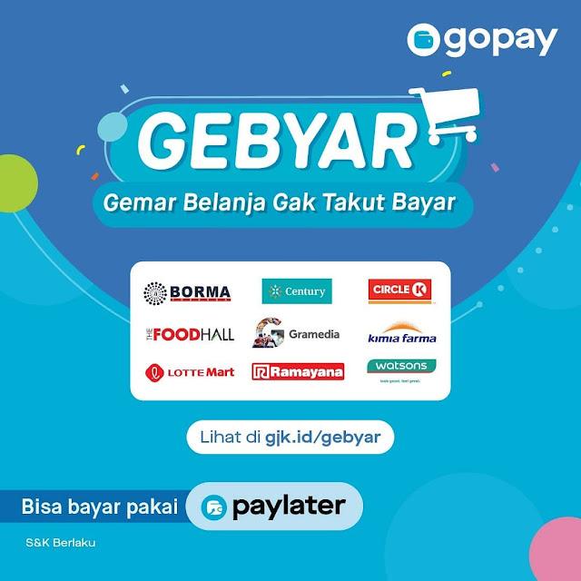 #GOPAY - #Promo GEBYAR di Berbagai Merchant Periode Oktober 2019