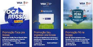 Cadastrar Promoção Vai de Visa 2018 Prêmios Participar Copa do Mundo