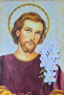 Prier le Rosaire avec les Saints en général - Ils sont de puissants intercesseurs -  20200322_184714