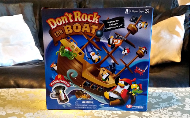 Don't Rock the Boat game box