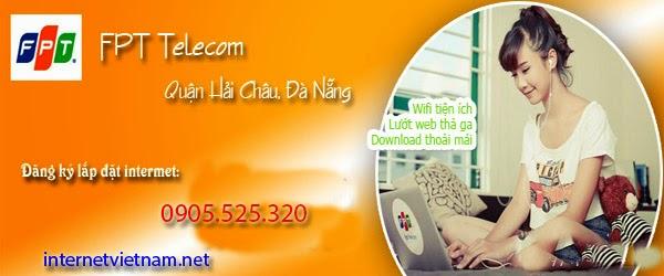 Đăng Ký Lắp Đặt Wifi FPT Quận Hải Châu