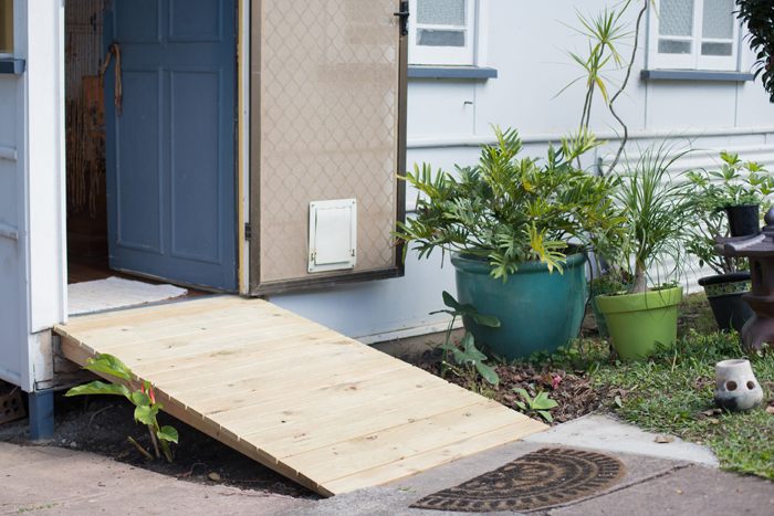 timber front ramp