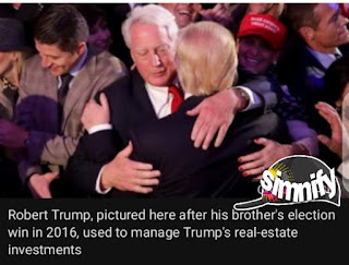 President Trump's younger brother Robert Trump dies in hospital at 71 years