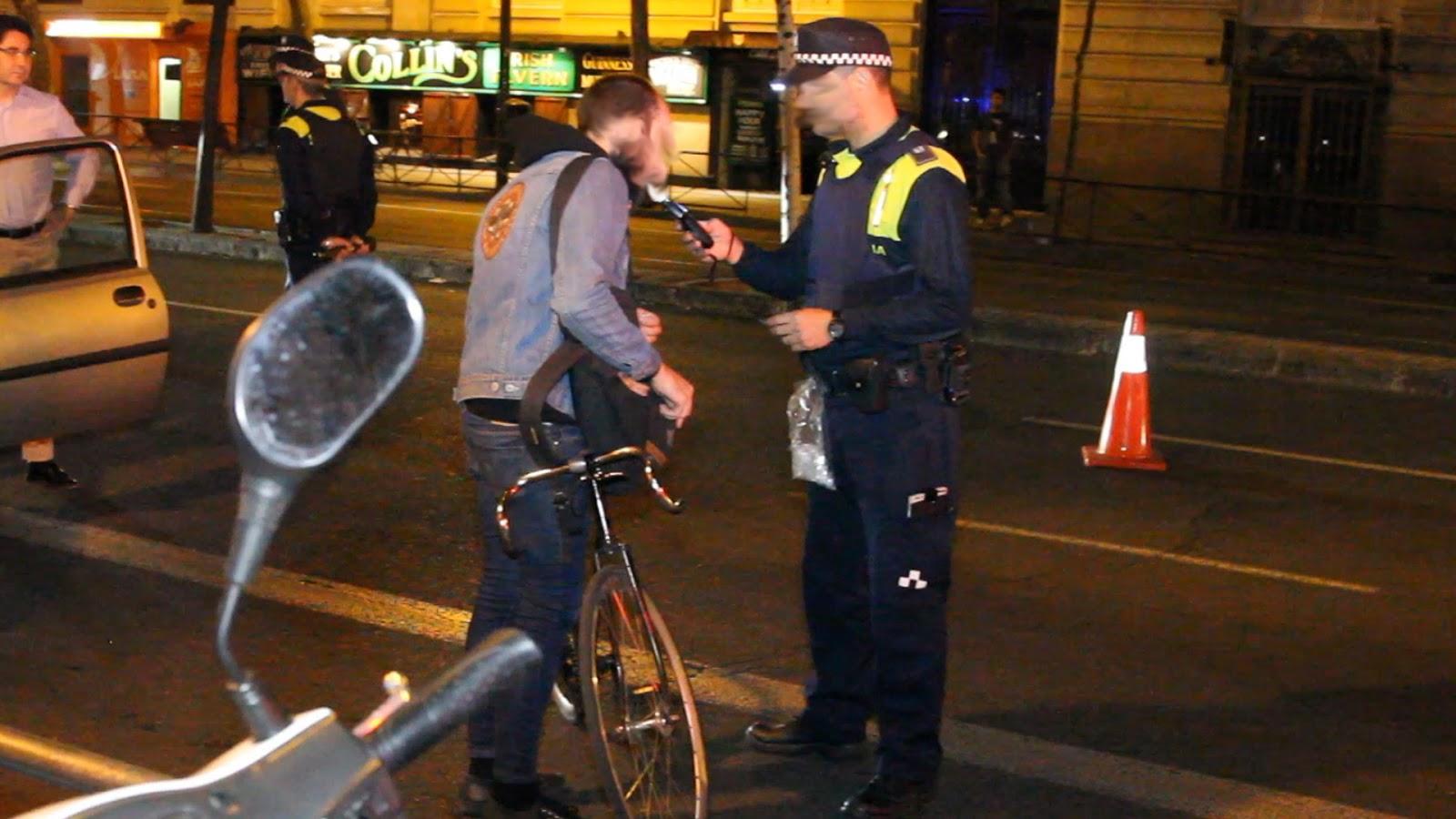 Aumenta el número de positivos sobrepasar la tasa multas a ciclistas