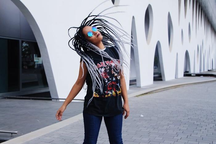 Lacre box braids white tranças branca blogueira negra
