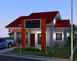 rumah sederhana sekali