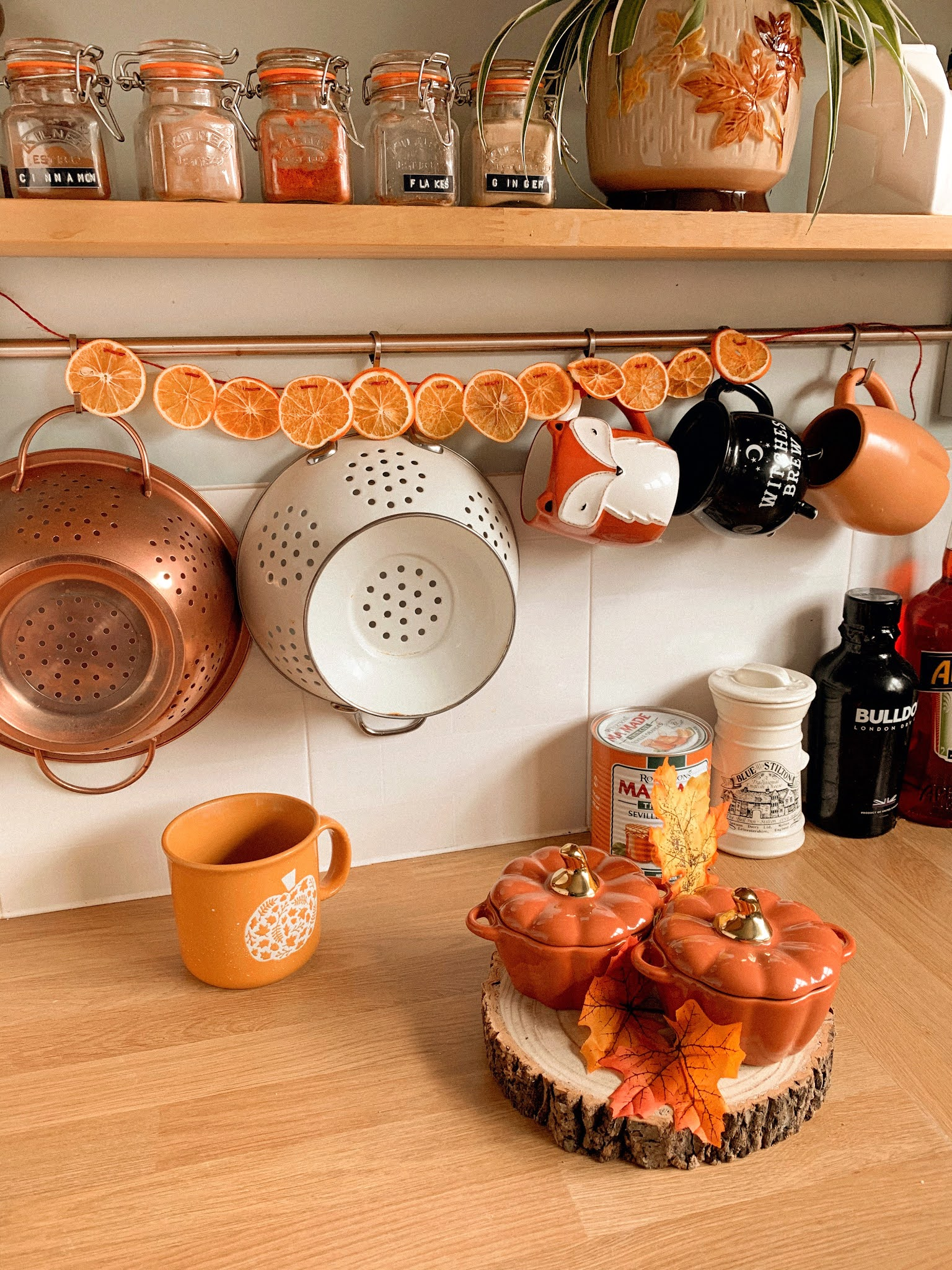 Kitchen Autumn Decorations Cheap