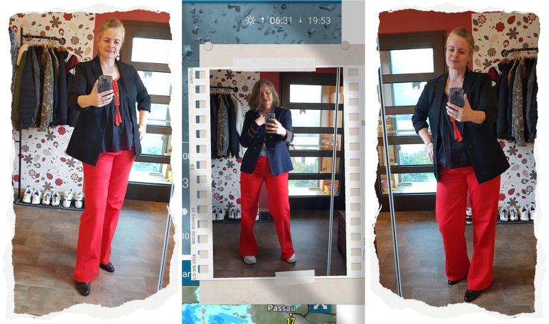 Rote Sailor-Jeans Kombinationen