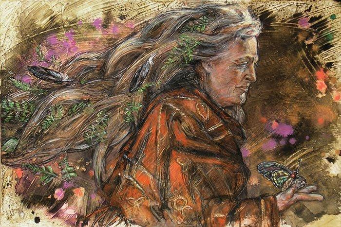 mollie kellogg magical mystical painter tuttart