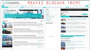 Maxxiz Responsive Blogger Theme - Responsive Blogger Template
