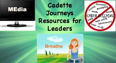 Cadette Girl Scout Journeys Resources for Leaders-ideas for getting the most from each Journey