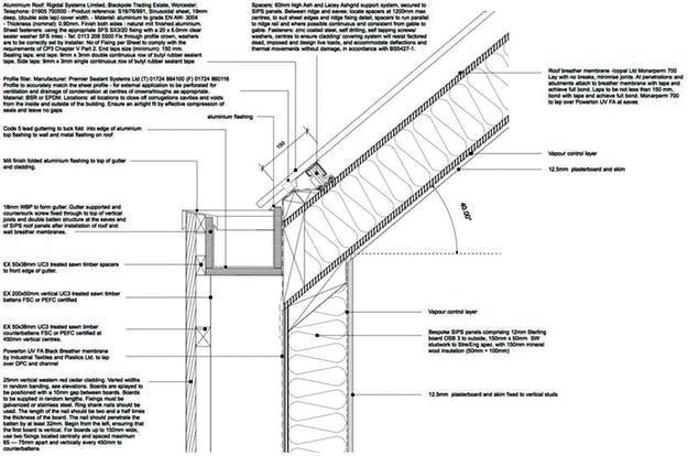 03. Studio Taman Negara, Warmington, Inggris Raya oleh Ashworth Parkes Architects
