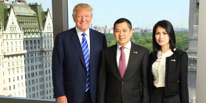Hary Tanoe Sesumbar ngaku bisa komunikasi langsung dengan Trump
