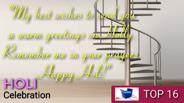 Inspirational holi messages in English - Best wishes for Holi messages   newsboxwithazi
