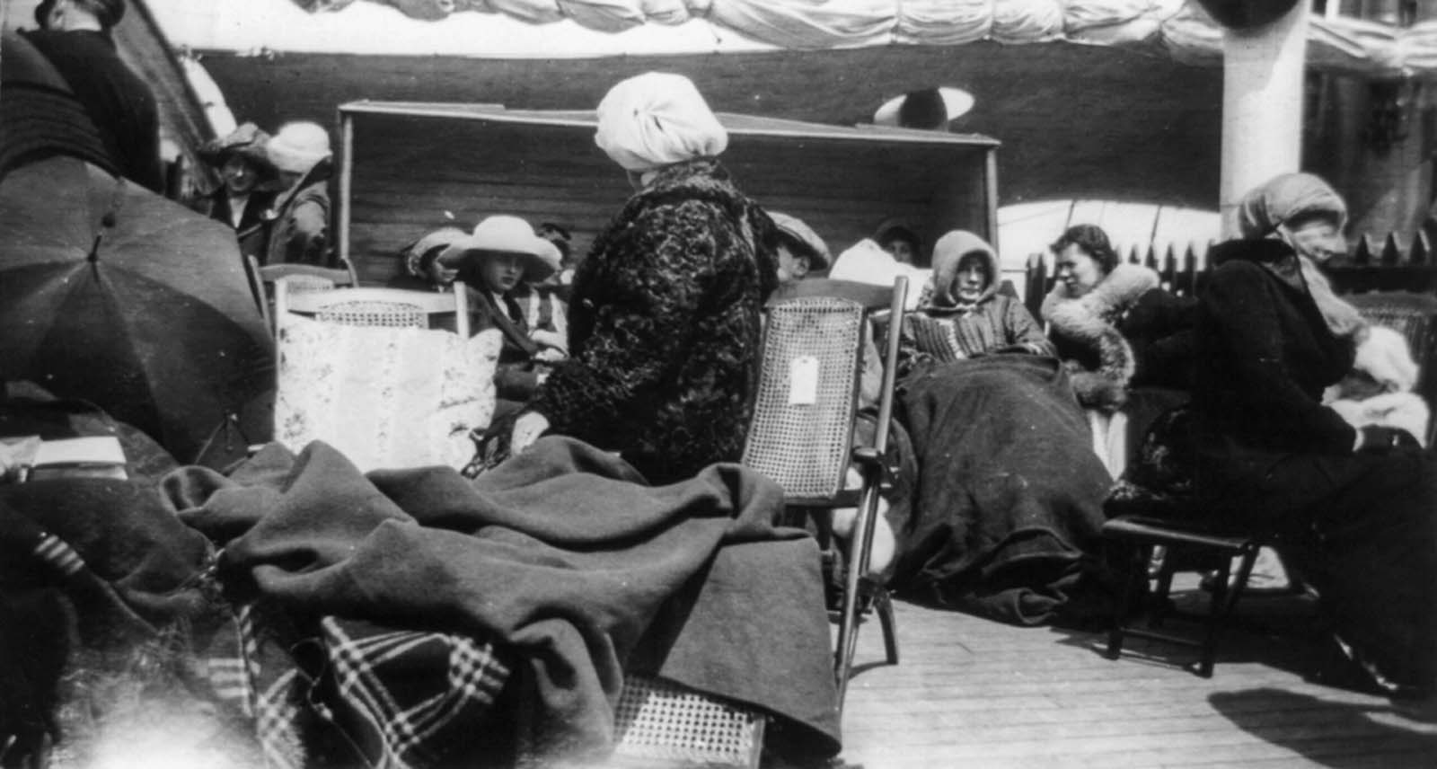 titanic survivors pictures