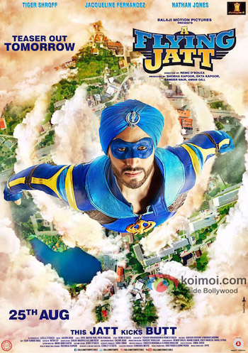 A Flying Jatt 2016 Hindi 480p DVDScr Mafiaking 400mb