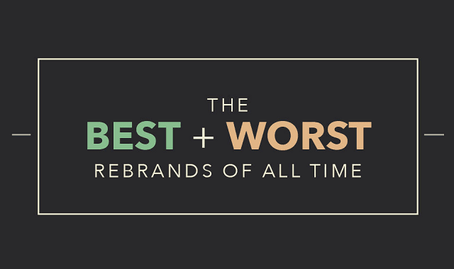 Best and Worst Rebrands of All Time