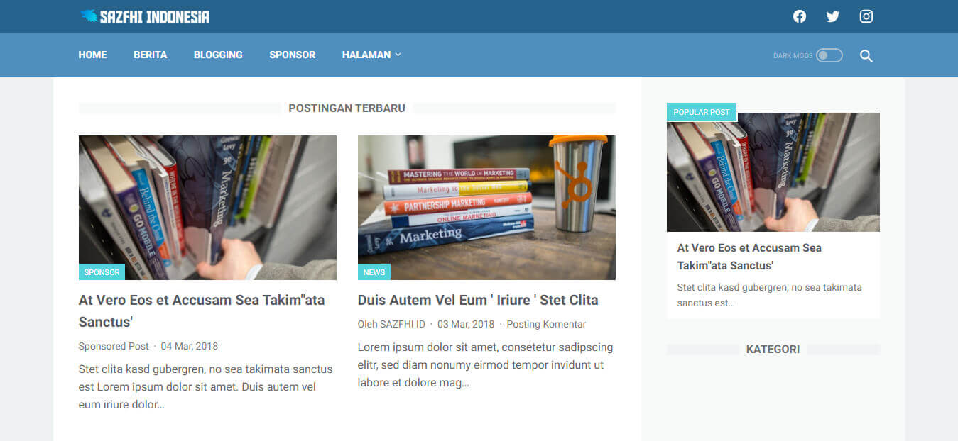 Download Template Linkmagz