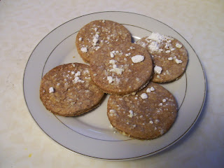 Cinnamon tea cakes, from an 1855 recipe.