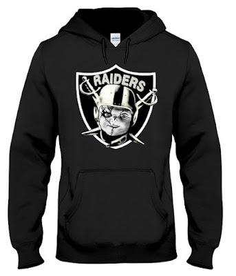 chucky's back raiders hoodie sweatshirt
