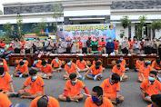 Selama Ops Sikat Semeru 2020, Polrestabes Surabaya Ungkap 479 Kasus