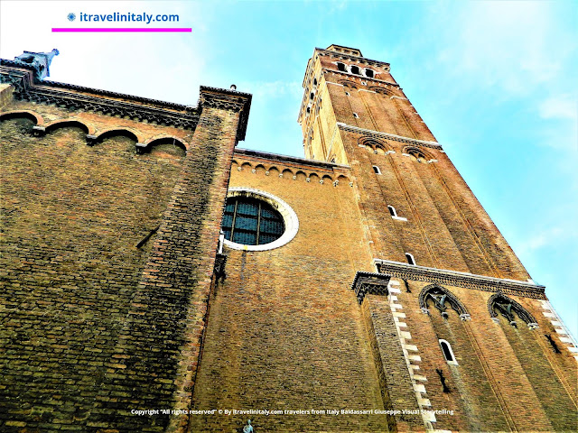 "Basilica of Santa Maria Gloriosa dei Frari Venezia Copyright ""All rights reserved"" © By itravelinitaly.com travelers from Italy Baldassarri Giuseppe Visual Storytelling"