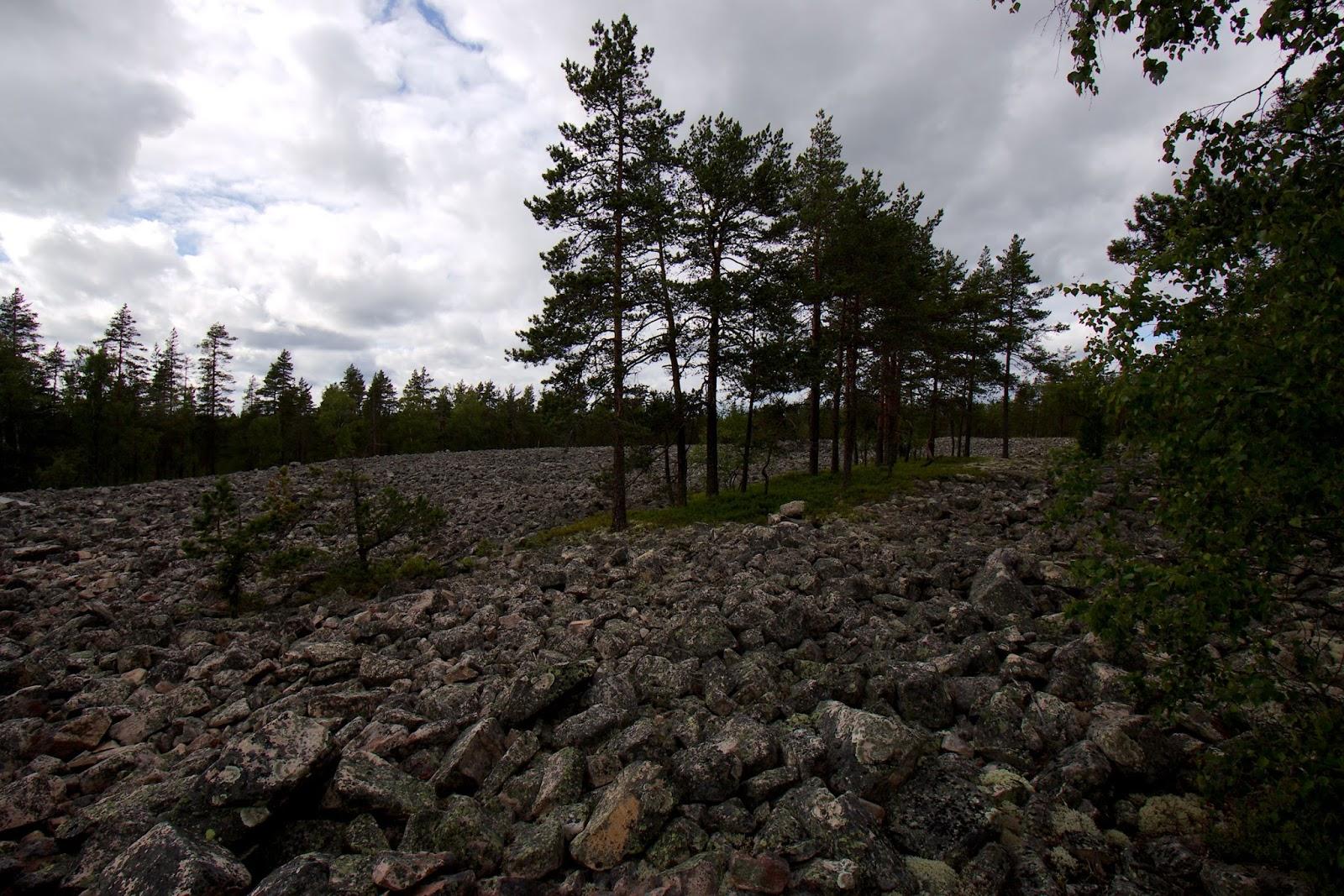 Kivijata, Lauhanvuori, Isojoki