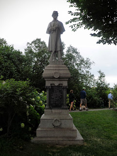 Civil War monument, Camden, Maine