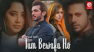 Tum Bewafa Ho Lyrics - Stebin Ben x Payal Dev