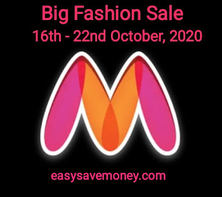 Navratri Special Sale 16th - 22nd October, 2020 on Myntra