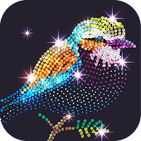 Diamond Coloring – Sequins Art & Paint by Numbers Mod Apk