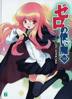 Download Zero no Tsukaima Volume 10